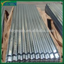 Caliente Venta de chapa de acero corrugado galvanizado / chapa de acero corrugada GI (FÁBRICA)