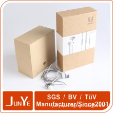 flat rigid earphone accessory headphone packaging box