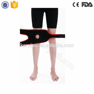 Neoprene knee compression sleeve for running biking volleyball