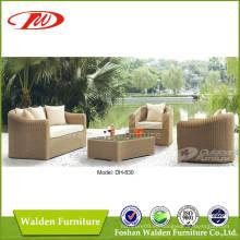 Muebles de mimbre Sofá de ratán Dh-830