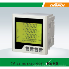 Medidor de potência múltipla LCD trifásico