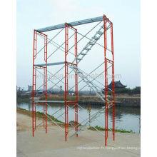 échafaudage d'échelle pliante \ cadre d'échelle galvanisé