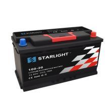 Литиевый автомобильный аккумулятор 12,8 В 100-20 LiFePO4