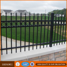 Low Carbon Steel Metal Fences and Gates