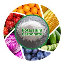Engrais de carbonate de potassium K2co3 Factory 99% Carbonate de potassium