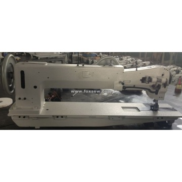 Longo braço Extra Heavy Duty Composta Feed Lockstitch Máquina De Costura
