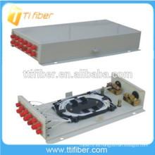 Caja terminal de fibra óptica montada en la pared 12Port