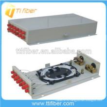 12-контактная клеммная коробка настенного оптоволоконного кабеля
