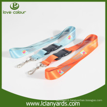 Cheap custom sublimation polyester material lanyard beautiful printing