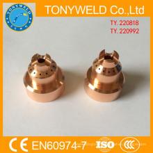 65A 85A 105A plasma torch spares shield 220818 220992