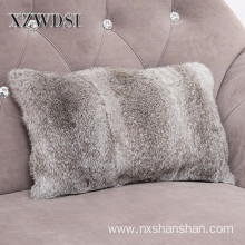 China for Mongolian Faux Fur Pillow Soft Adult Car Handmade Mongolian Lamb Fur Pillow supply to France Metropolitan Exporter