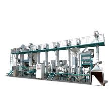 30-40TPD komplette vollautomatische Mini-Reismühlenanlage