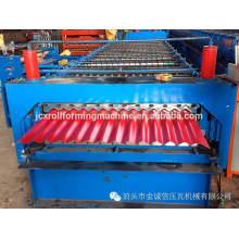 Máquina de fabricação de chapas de telhado de aço colorida da China
