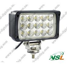 12V 24V 6 ′ ′ 45W Светодиодный рабочий светильник с точечным лучом и лучом потока для сельскохозяйственной техники, грузовиков, лодок