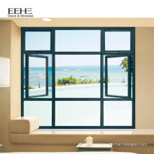 Sound proof tilt up aluminum window decorative