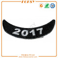 2017 Badge embroidery patch iron on