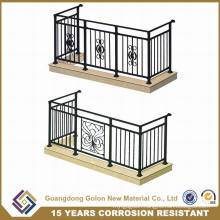 OEM&ODM Welcomed European Designs Wrought Iron Balcony Railings