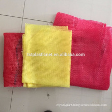 high quality and eco-friendly potatoes plastic mesh bag with c heap price for sale