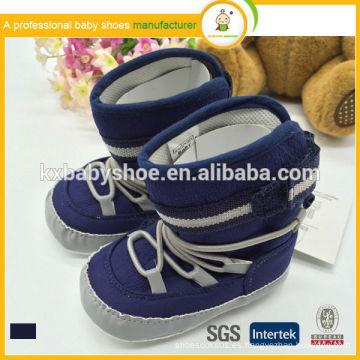 2015 el mejor algodón de la manera de la venta embroma el whoelsale calza los zapatos de bebé felices / babay calza