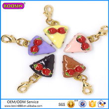 Custom High Quality Cute Jewelry Birthday Cakes Pendant Wholesale #16409