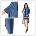 Latest design knitted cashmere long cardigan women crochet cardigan