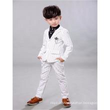 New Design Baby Boy Performance Bekleidung Set Slim-line Blume Boy Anzüge für Hochzeit
