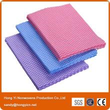 Rouleau de nettoyage de tissu non tissé Spunlace
