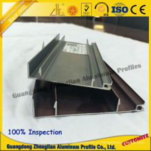 China Aluminum Manufacturs Supplies Stocked Kitchen Profile Skirting Board