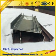 Profil en aluminium de meubles utilisé pour le profil de coffret de cuisine