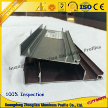 Furniture Aluminum Profile Use for Kitchen Cabinet Profile