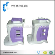 Customized cnc machined professional medical equipment plastic shell