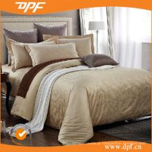 Tamanho europeu sateen algodão jacquard capas de edredão (dpf060422)