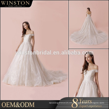 Venta al por mayor de lujo de lujo de la boda de la fábrica de China de gama alta