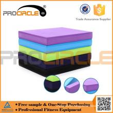 Treinamento colorido da almofada de equilíbrio da espuma do TPE