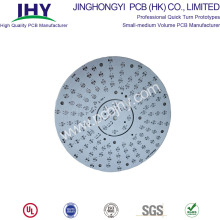 1 Layer LED PCB Round White  1oz