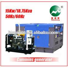 15KW generador accionado por Weifang D 4100