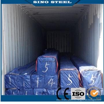 Q195 Q235 Precio de tubería de acero galvanizado de sección hueca para muebles