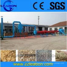 CE Aprobado Wood Sawdust / Afeitado / Chips secador de la máquina de precio, máquina de secado de tambor de chips de madera
