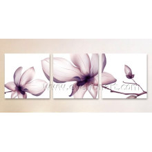 Высокомарочная Handmade картина маслом цветка (Fl3-206)