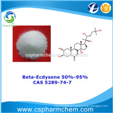 Beta-Ecdysone 95%, CAS 5289-74-7, 100% Extracto de Natureza