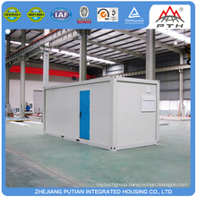 Economical steel structure container house on promotion