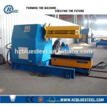 Máquina de descalcificación hidráulica automática de la bobina de acero del color, desbobinador hidráulico, máquina de descolado de la bobina