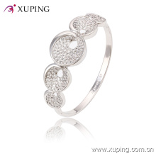 51454 Fashion Elegant Rhodium CZ Diamond Jewelry Bangle with for Women