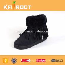 low price comfortable children girl winter tassels boot