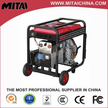 Máquina de generador de soldadura de gasolina con certificado Ce Made in China