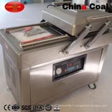 Dz600 / 2c double chambre à vide emballeur pour la nourriture