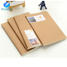 2015 China Print Natur Leere Kraftpapier Notebook