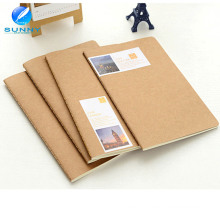 2015 China Print Nature Blank Kraft Paper Notebook