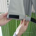 brilho personalizado no revestimento reflexivo novo da segurança escura para homens para a segurança