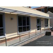 Projet architectural Projection thermique Panneaux en aluminium